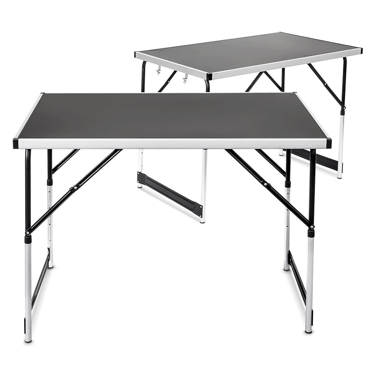 lot de 2 tables pliantes