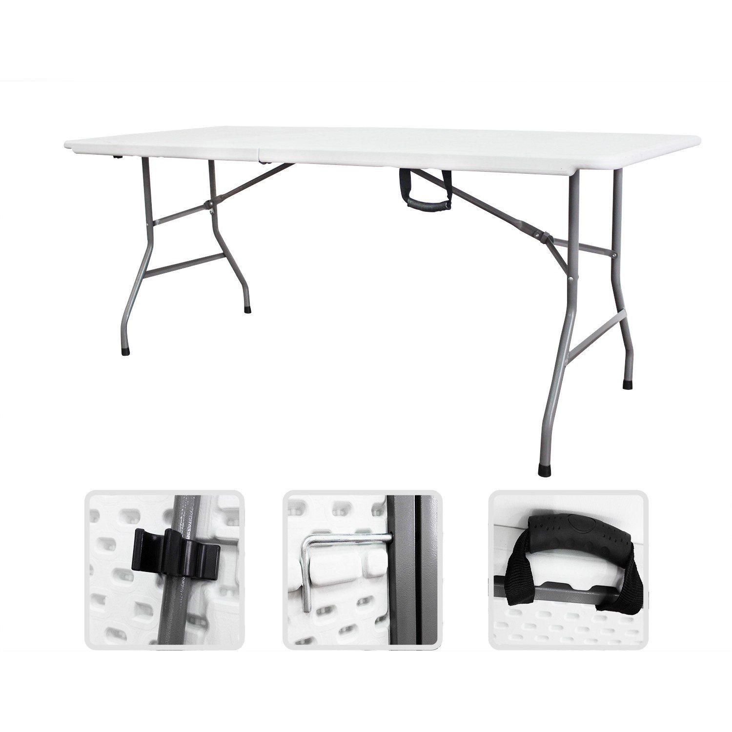 table pliante traiteur blanche